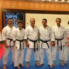De la stânga: Tibi, Cristi, Moni, Sensei, Zoli, Arpi şi Paula