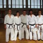 Clujenii: Mircea, Moni, Cristi, Liviu, Adi